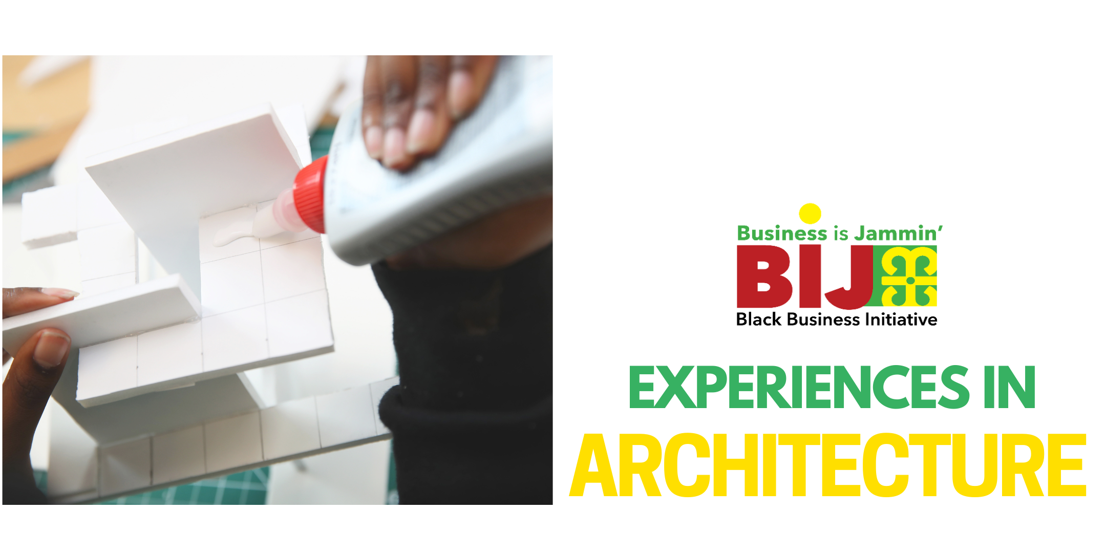 banner promoting Experiences In Architecture